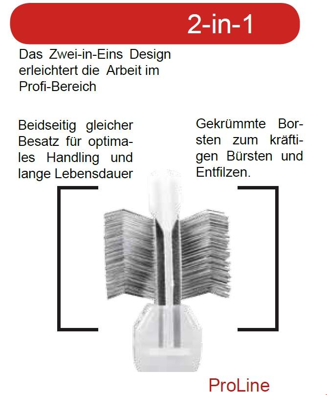 ActiVet Bürsten (2 in 1)